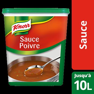 Sauce poivre deshydratee 900 g jusqu a 10 l knorr