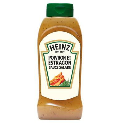 Sauce poivre estragon flacon 800 ml heinz