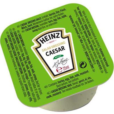 Sauce salade caesar 100 x 25 ml heinz 1