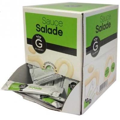 Sauce salade en buchettes 100 x 10 g gilbert