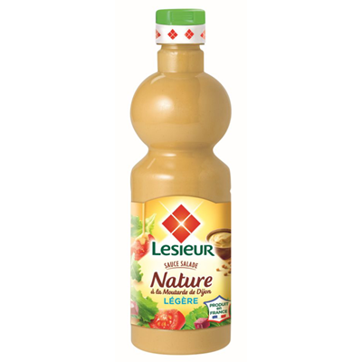 Sauce salade nature legere 500 ml lesieur