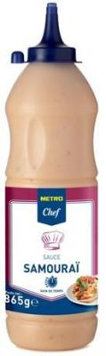 Sauce samourai 855 g metro chef pour professionnels