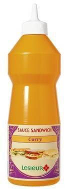 Sauce sandwich au curry 950 ml lesieur pour professionnels