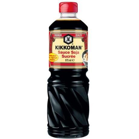 Sauce soja sucree 975 ml kikkoman pour bureau