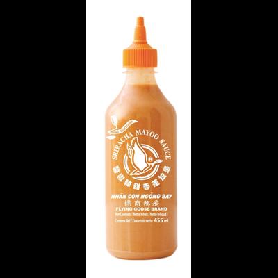 Sauce sriracha mayo 455 ml flying goose 1