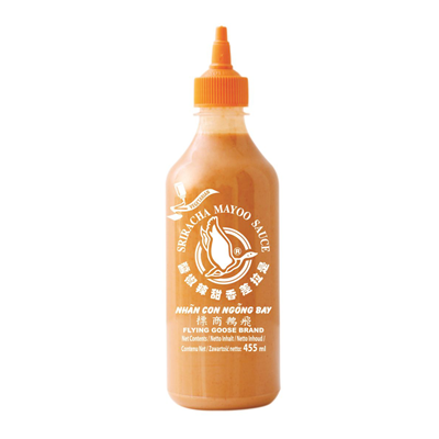 Sauce sriracha mayo 455 ml flying goose