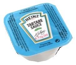Sauce tartare 25 x 100 g heinz