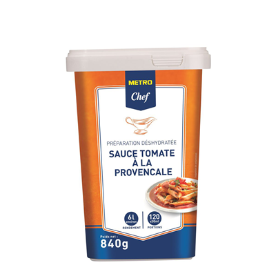 Sauce tomate provencale 6 l 840 g metro chef
