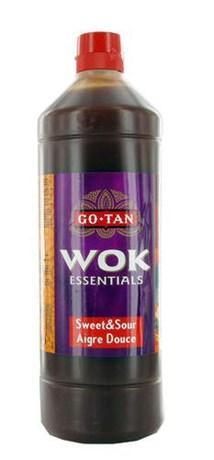 Sauce wok aigre douce 1 l go tan pour bureau