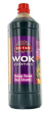 Sauce wok soja sesame 1 l go tan pour bureau