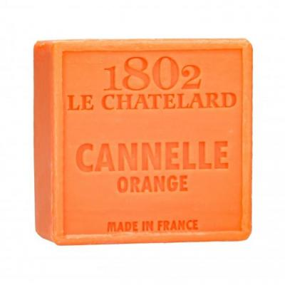 Savon carre 100 g cannelle orange sans palme