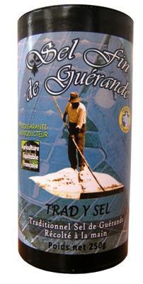 Sel fin de guerande 250 g trad y sel