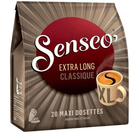 Senseo extra long classique 20 dosettes pour professionnels