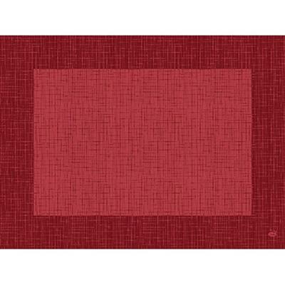 Set de table jetable dunicel linnea bordeaux 30 x 40 cm vendu par 100