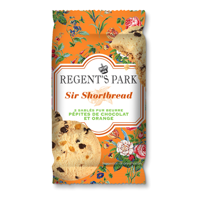 Shortbread choco orange 30 g x 18