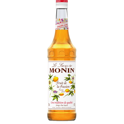 Sirop au fruit de la passion 70 cl verre perdu monin