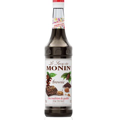 Sirop brownie 70 cl verre perdu monin