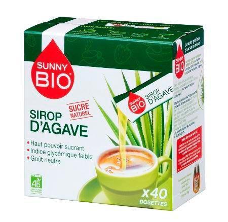 Sirop d agave bio x 40 dosettes pour professionnels