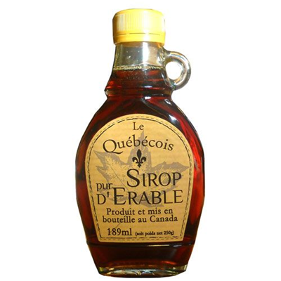 Sirop d erable ambre 189 ml le quebecois
