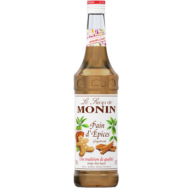Sirop de pain d epices 70 cl verre perdu monin