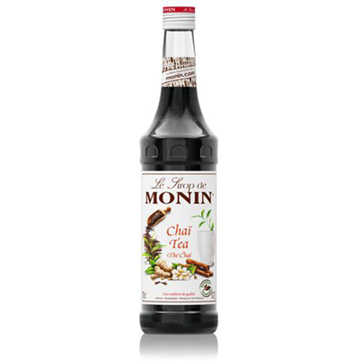 Sirop de the chai 70 cl verre perdu monin