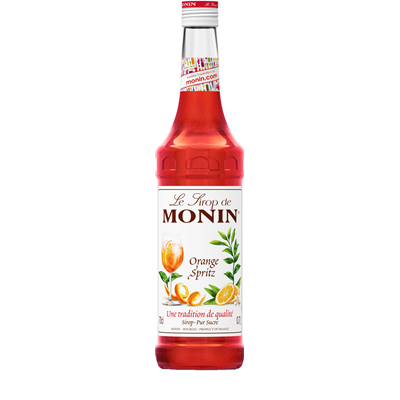 Sirop orange spritz 70 cl verre perdu monin