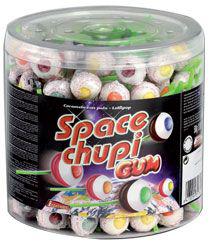 Space chupo gum 150 sucettes 1 8 kg intervan