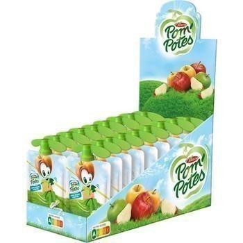 Specialite de pommes sans sucres ajoutes gourdes 18x90 g materne 1