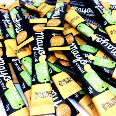 Sticket s mayonnaise 10 g saveurs et sauces le lot de 20