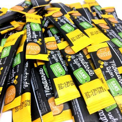 Sticket s moutarde 4 g le lot de 20