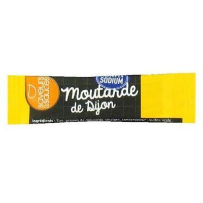 Sticket s moutarde 4 g saveurs et sauces