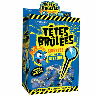 Sucette tetes brulees kitache 200 pieces