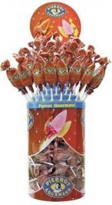 Sucettes caramel 125 pieces pour professionnels