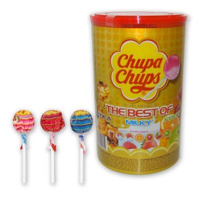 Sucettes fruit lolipops chupa chups