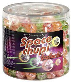 Sucettes space chupi galactic x 150 pour professionnels