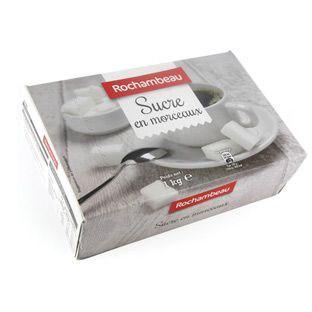 Sucre blanc en morceaux n 4 6 x 1 kg pour professionnels