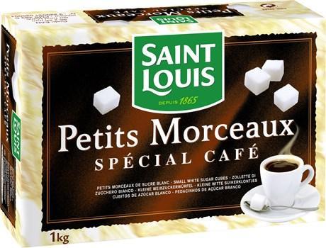 Sucre en petits morceaux special cafe saint louis 1 kg pour bureau