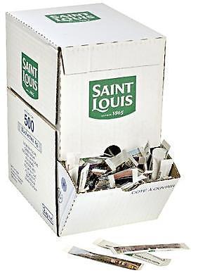 Sucre en poudre buchette 500 x 4 g saint louis pour professionnels et collectivites