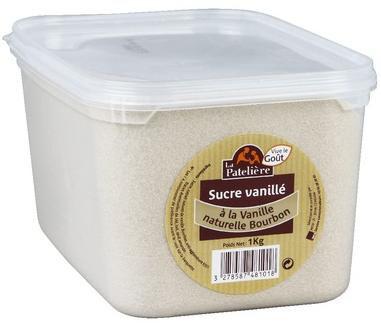 Sucre vanillee 1 kg la pateliere