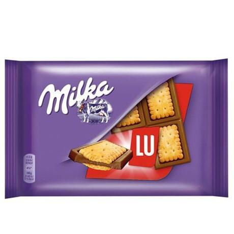Tablette milka lu pocket 20 x 35 g pour professionnels