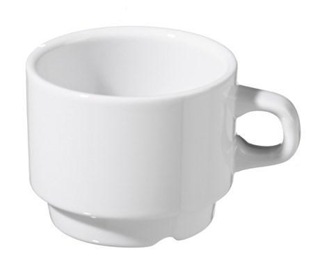 Tasse a cafe julia blanc 100 ml vendu par 6 pour bureau