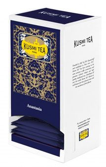 The anastasia 25 sachets de 55 g kusmi tea