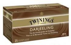 The darjeeling 25 sachets twinings pour bureau