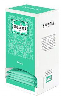 The detox bio 25 sachets de 55 g kusmi tea