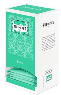 The detox bio 25 sachets de 55 g kusmi tea