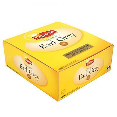 The earl grey 100 sachets lipton the earl grey 100 sachets lipton pour professionnels et collectivites