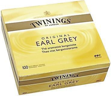 The earl grey 100 sachets twinings pour professionnels et collectivites
