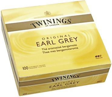 The earl grey 100 sachets twinings
