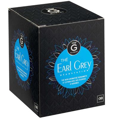 The earl grey 30 sachets gilbert