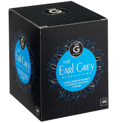 The earl grey 30 sachets gilbert